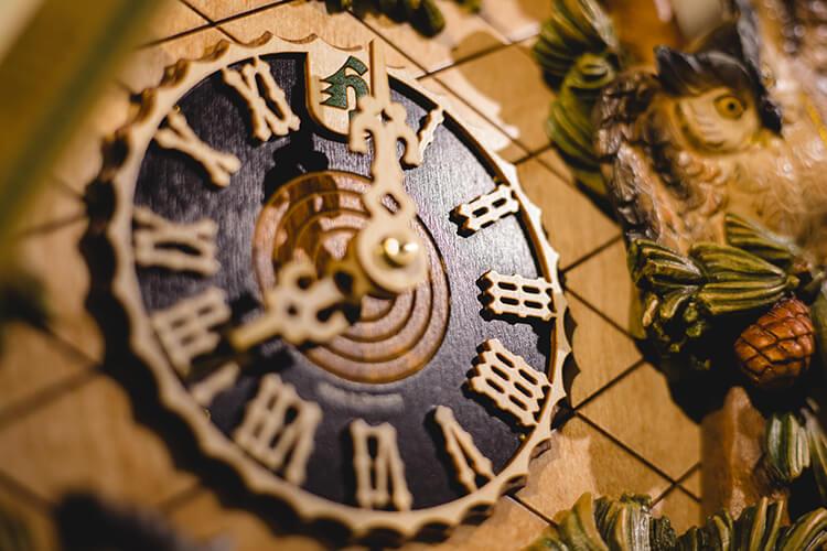 鳩時計 機械式