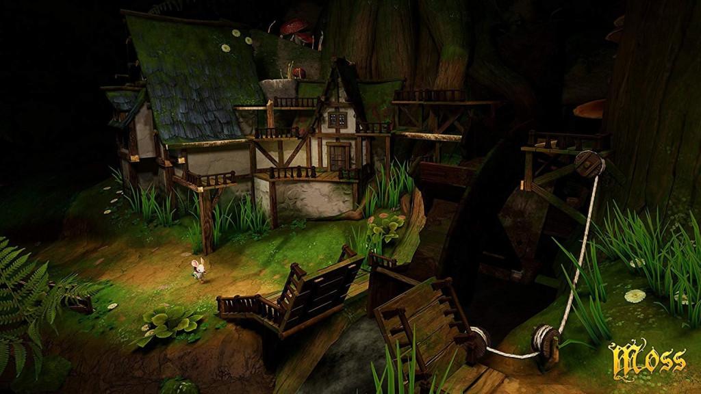 OculusQuest Moss 謎解き