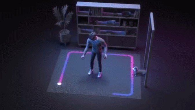 Oculus Quest ガーディアン